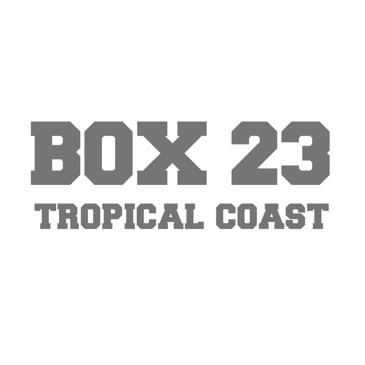Box23 Tropical Coast